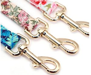 Beautiful floral printed 5ft Nylon Dog Leash
