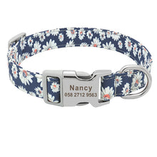 Load image into Gallery viewer, Personalized Nylon Dog Collar - Free Engraving