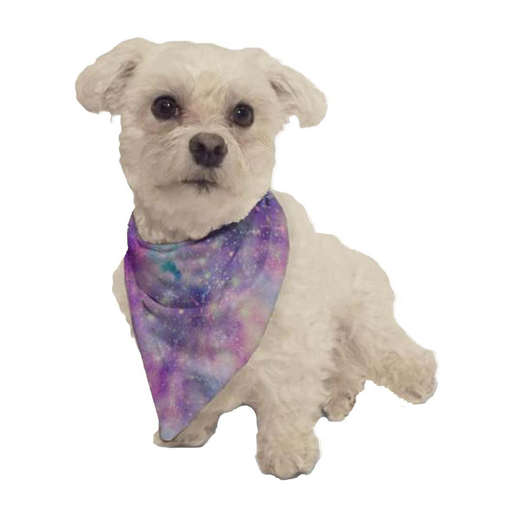 Starry Galaxy Dog Bandana