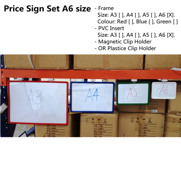 price-sign-magnetic-clip-pvc-insert-sign-tag