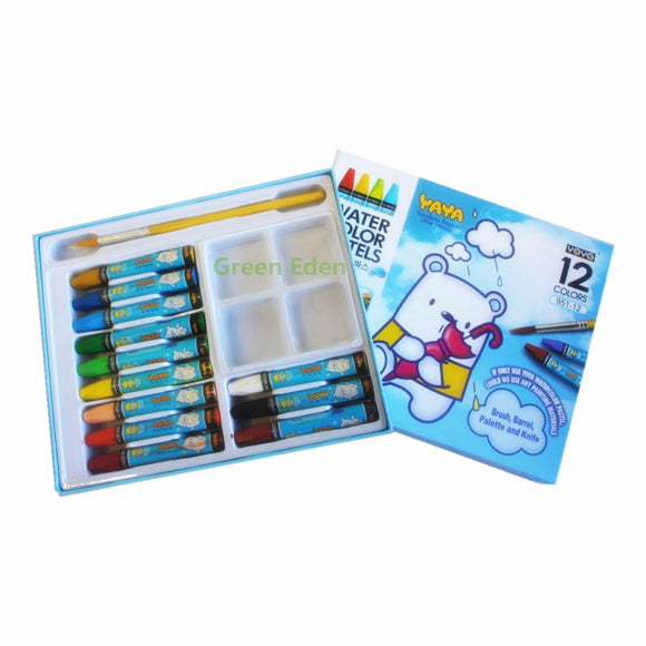 watercolor-pastels-colours-paper-sleeve-brush-touch