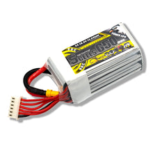 Load image into Gallery viewer, Coddar 650mAh 5s 18.5v 90c Lipo Battery with XT30  FPV plug for RC Racing Drone