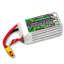Load image into Gallery viewer, Coddar 1350mAh 4s 14.8v 130c Lipo Battery with XT60  FPV plug for RC Racing Drone