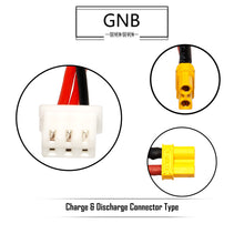 Load image into Gallery viewer, GNB 520mAh 2s 7.6v 80c Lipo Battery with XT30 FPV Plug for RC Racing Drone - 2 Pack