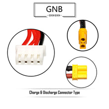 Load image into Gallery viewer, GNB 650mAh 3s 11.4v 60c Lipo Battery with XT30  FPV plug for RC Racing Drone - 2 Pack
