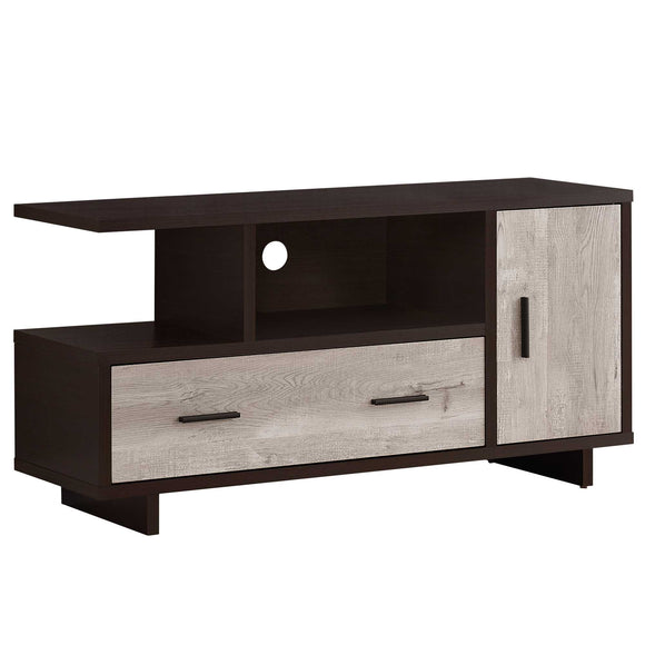 Cappuccino Reclaimed Wood Look - Tv Stand