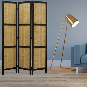 Natural Willow Screen Room Divider