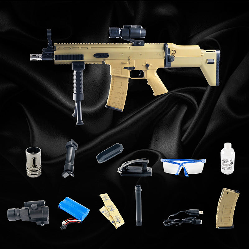 Jinming Gen8 SCAR V2 Gel Blaster with Upgraded Nylon Gearbox