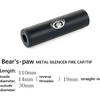 Bear's-paw Metal Silencer