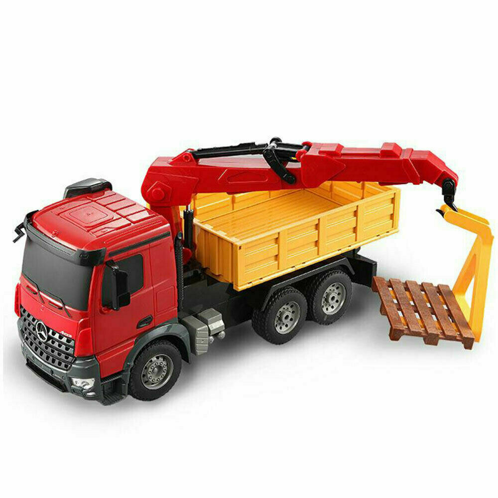 DoubleE Mercedes Benz Arocs 1:20 56cm RC Remote Control Crane Truck w/Charger