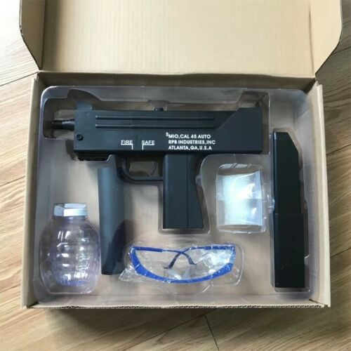 AU STORE NEW NYLON MAC 10 GEL BALL BLASTER AUTO MAG-FED ADULT SIZE