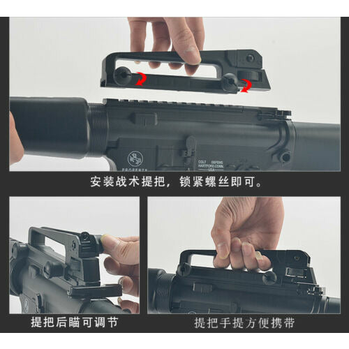 M16 Gel Blaster Gel Gun Water Crystal Bullets Mag-fed Toy Gun Adult Size AU