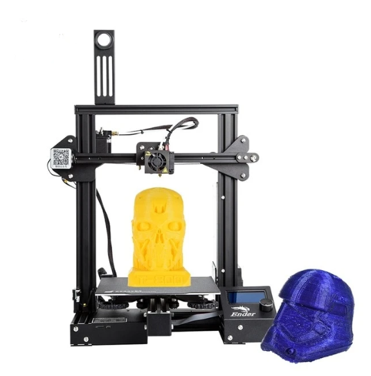 3D Ender Printer Pro with Removable Build Surface Plate