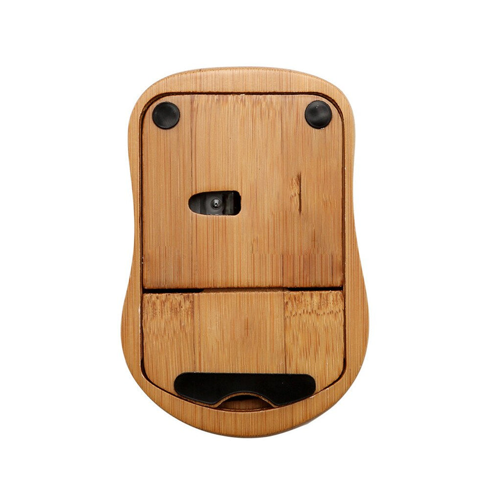 Wireless Bamboo Optical Mouse