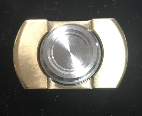 Brass and Steel Fidget Spinner