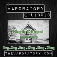 The Vaporatory® Black Chapel E-Liquid