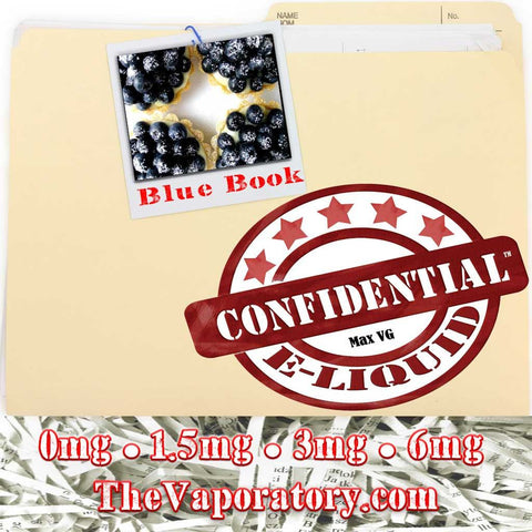 Confidential Blue Book E-Liquid