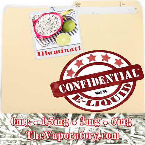 Confidential Illuminati E-Liquid