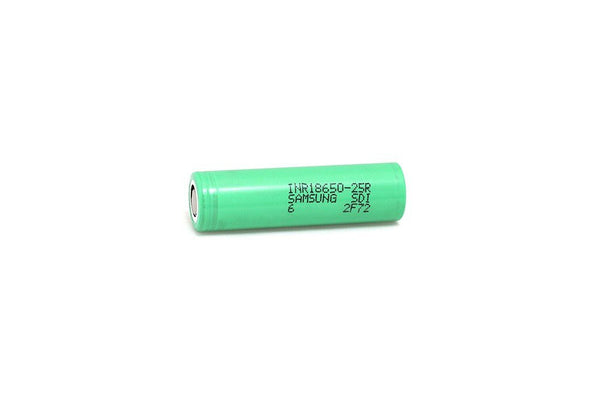 Samsung 25R 18650 Battery-Green
