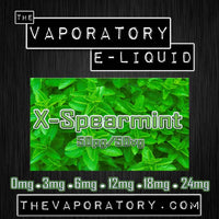 The Vaporatory® X-Spearmint E-Liquid