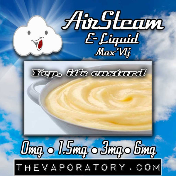 Yep, its custard E-Liquid