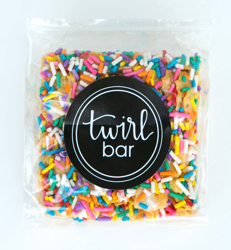 White Chocolate Twirl Bar