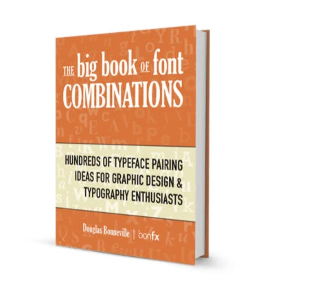 The Big Book of Font Combinations (PDF ebook)