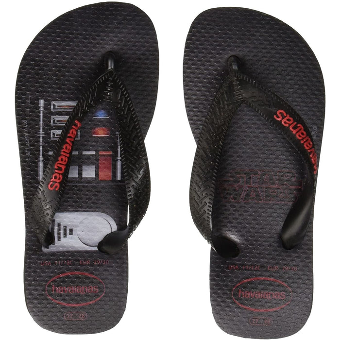 Havaianas Star Wars FLIP Flops Black-red