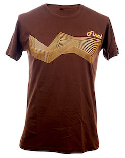 3D Hill T-shirt Brown