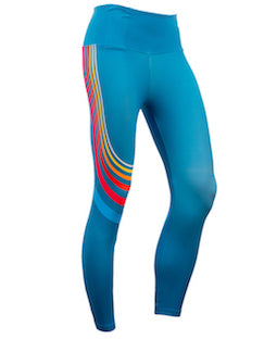 Women's Curve Turquoise Leggings
