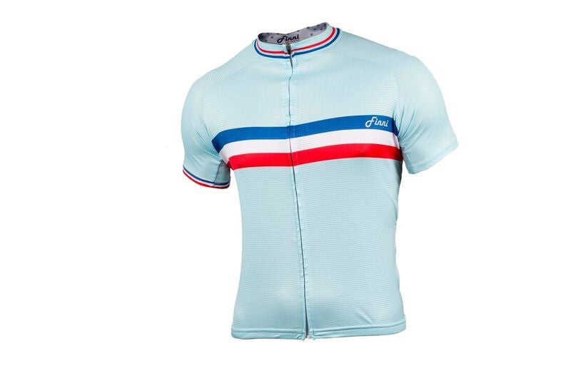 Vintage Sky Blue 3 Stripe top (men)