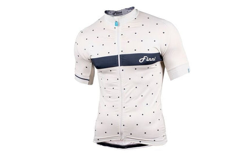 Cream Polka Signature Fit