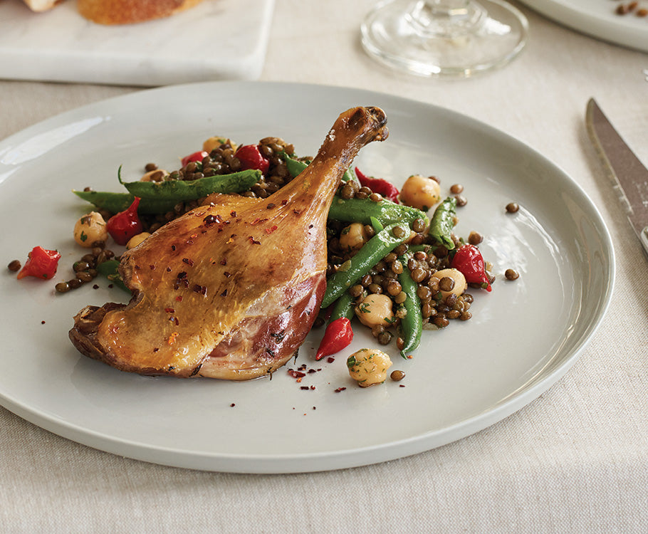 Sabato - Duck Confit with Puy Lentil Salad