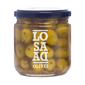 Losada Cracked & Marinated Verdial Olives