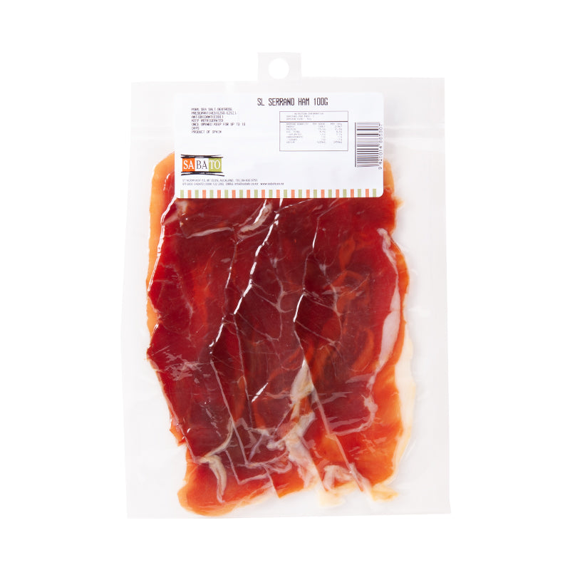 Carchelejo Jamon Serrano ~ Sliced