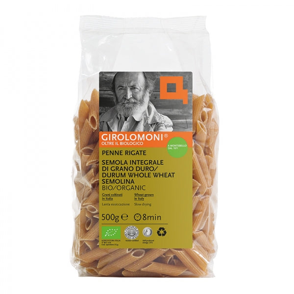 Girolomoni Grano Duro Penne Whole Wheat