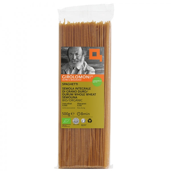 Girolomoni Grano Duro Spaghetti Whole Wheat