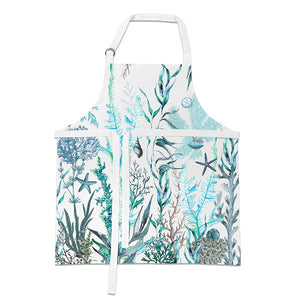 Michel Design Works Apron ~ Ocean Tide