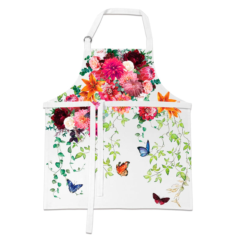Michel Design Works Apron ~ Sweet Floral Melody