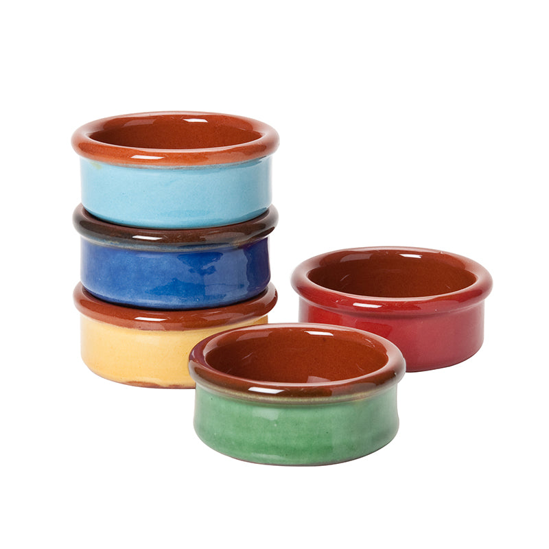 Coloured Terracotta Tapas Dish
