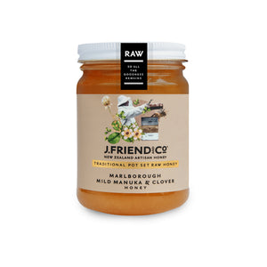 J. Friend & Co Manuka & Clover Honey