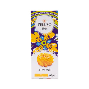 Peluso Almond Biscuits with Lemon