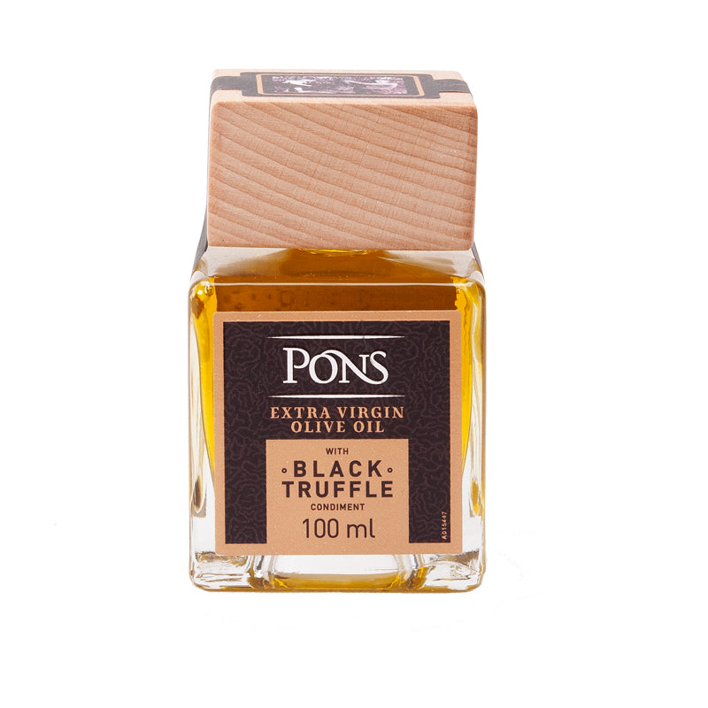 Pons Black Truffle Infused Extra Virgin Olive Oil