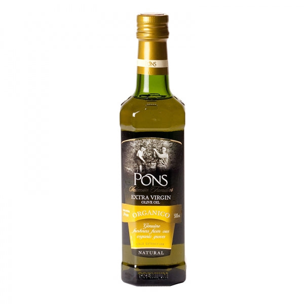 Pons Organic Extra Virgin Olive Oil