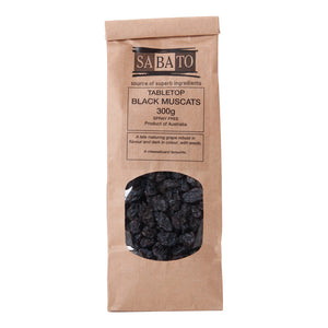 Tabletop Australian Black Muscat Raisins
