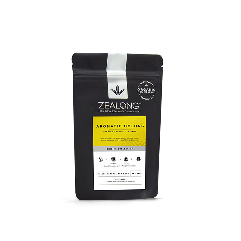 Zealong Organic Tea Bags ~ Aromatic Oolong