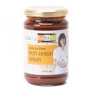 Julie Le Clerc Rich Onion Relish