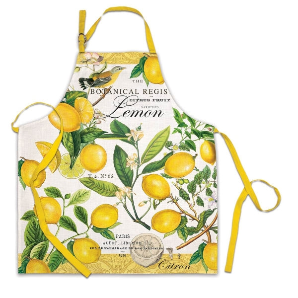 Michel Design Works Apron ~Lemon Basil