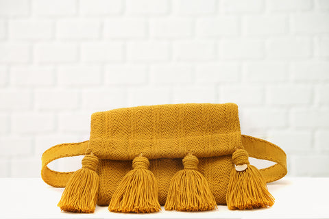 Ali O Belt Bag with Leather Fringe