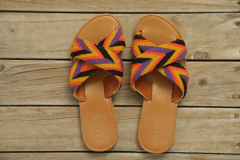 Mimi Cross B Sandals